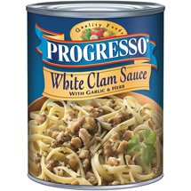 Progresso White Clam Sauce with Garlic & Herb