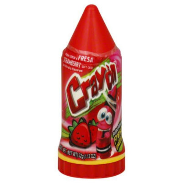 Jolly Ranchers Strawberry Crayon Candy