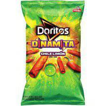 Doritos Dinamita Chile Limon Rolled Flavored Tortilla Chips