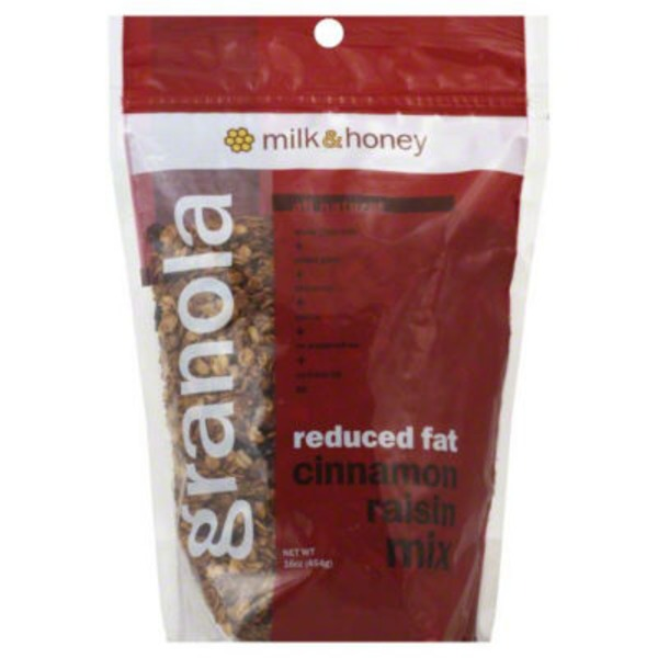 Milk And Honey Reduced Fat Cinnamon Raisin Granola Mix