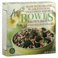 Amy's Brown Rice Black-Eyed Peas and Veggies Bowl