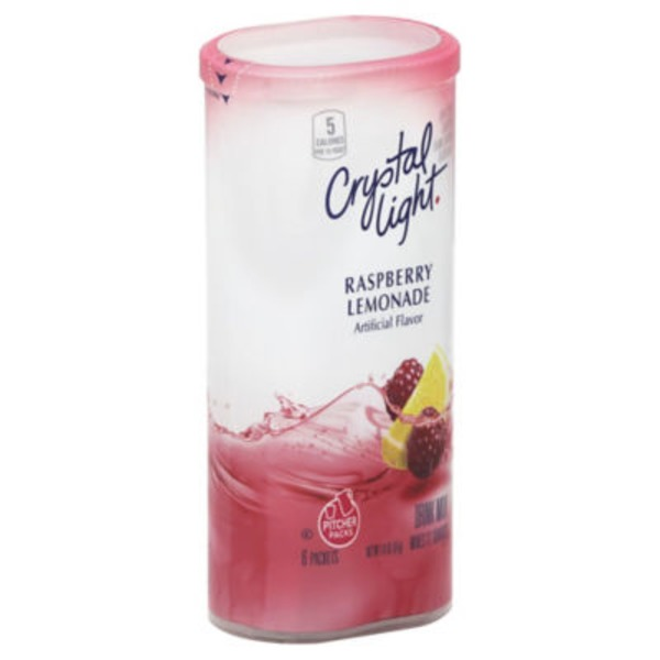 Crystal Light Raspberry Lemonade 12 Qt Drink Mix