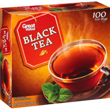Great Value All Natural Black Tea Bags