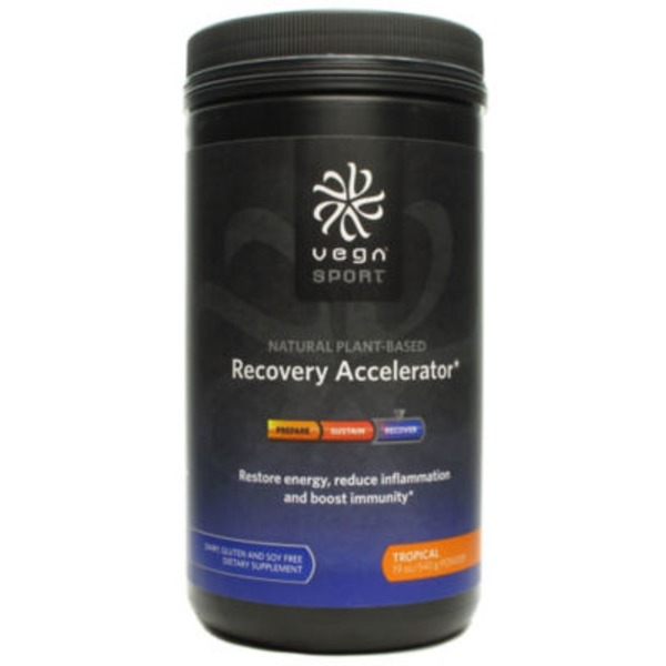 Vega Sport Recovery Accelerator Tropical Powder Dietary Supplement