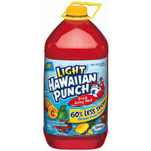 Hawaiian Punch Light Fruit Juicy Red Fruit Punch