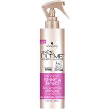 Schwarzkopf Styliste Ultime Crystal Shine & Hold Heat Protection Shine Spray