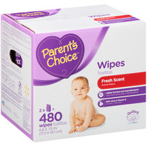 Parent's Choice Fresh Scent Baby Wipes