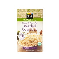 365 Organic Garlic & Olive Oil Pearled Couscous