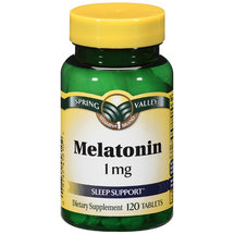Spring Valley Melatonin 1 mg Dietary Supplement