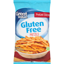 Great Value Gluten Free Pretzel Sticks
