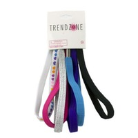 Trend Zone Assorted Bungee Headwraps