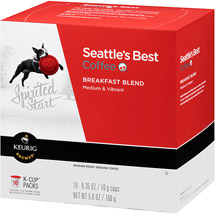 Seattle's Best Coffee Spirited Start Breakfast Blend Coffee K-Cups
