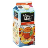 Minute Maid Peach Flavored Fruit Drink