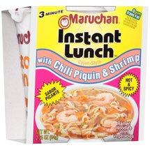 Maruchan Instant Lunch with Chili Piquin & Shrimp Ramen Noodles with Vegetables