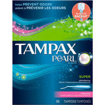 Tampax Pearl Tampons Super Fresh Scent