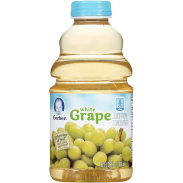 Gerber Juice White Grape from Concentrate Juice