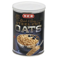 H-E-B Quick And Easy Steel Cut Oats