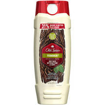 Old Spice Fresher Collection Timber Scent Body Wash