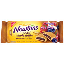 Nabisco Newtons Whole Triple Berry Chewy Cookies