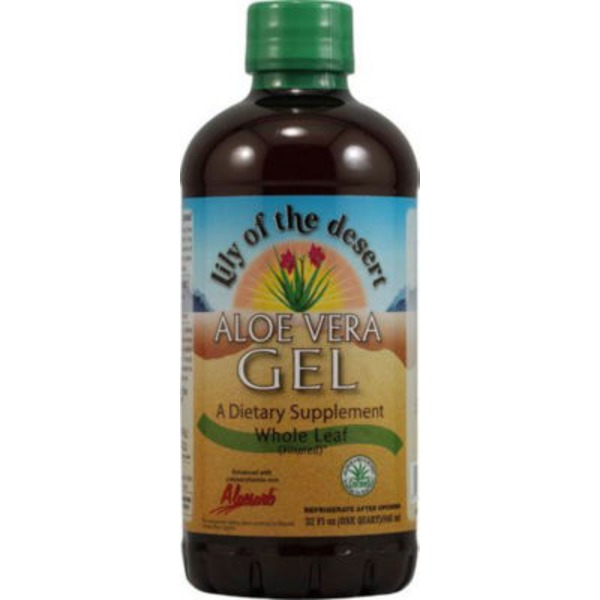 Lily of the Desert Aloe Vera Gel Dietary Supplement Inner Fillet