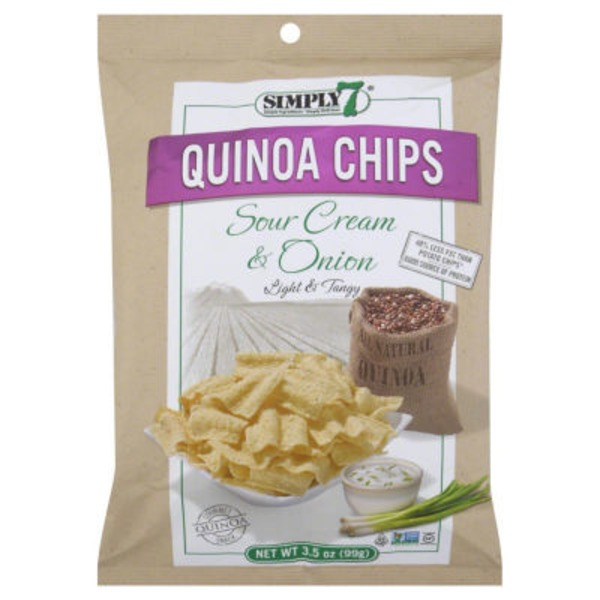 Simply 7 Gluten-Free Sour Cream & Onion Quinoa Chips