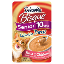 Hartz Delectables Bisque Lickable Senior Cat Treat Chicken/Tuna