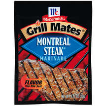 McCormick Grill Mates Montreal Steak Marinade Mix