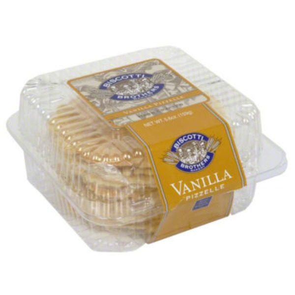 Biscotti Brothers Bakery Vanilla Pizzelle Biscotti