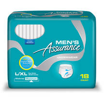 Assurance for Men Maximum Absorbency Protective Underwear Large/Extra Large