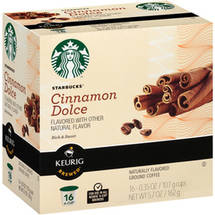 Starbucks Cinnamon Dolce Ground Coffee K-Cups