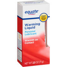 Equate Warming Liquid Personal Lubricant