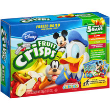 Brothers-All-Natural Disney Mickey Mouse Clubhouse Fruit Crisps Variety Pack