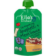 Ella's Kitchen Lip Smacking Spaghetti & Meat Sauce Baby Food