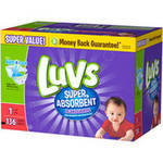 Luvs Diapers Size1