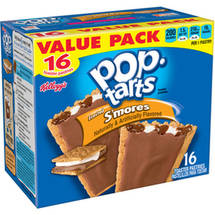 Kellogg's Pop -Tarts S'mores Toaster Pastries