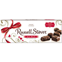 Russell Stover Valentine All Milk Chocolate Candies