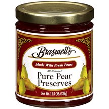 Braswell's All Natural Pure Pear Preserves
