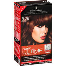 Schwarzkopf Color Ultime Flaming Reds Hair Coloring Kit 5.28 Cocoa Red