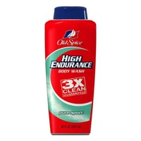 Old Spice Organic High Endurance Old Spice High Endurance Pure Sport Body Wash 18 oz  Male AP/DO & Body Spray