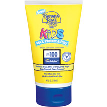 Banana Boat Kids Max Protect & Play Sunscreen Lotion SPF 100
