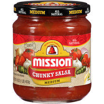 Mission Medium Chunky Salsa