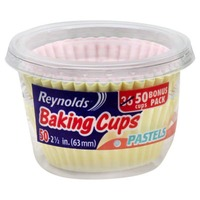 Reynolds Baking Cups White Baking Cups