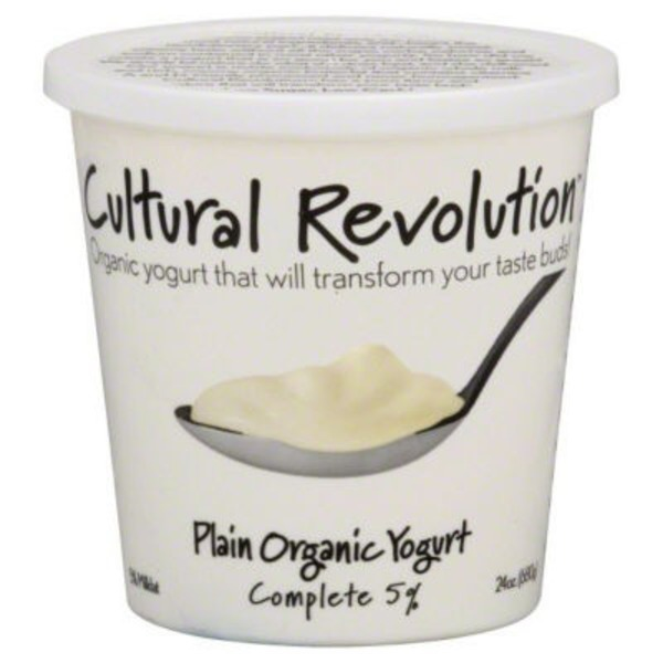 Kalona Super Natural Organic Plain Cream Top Yogurt
