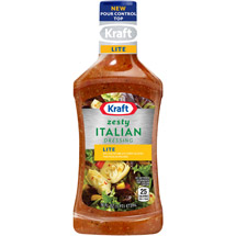 Kraft Salad Dressing: Light Zesty Italian