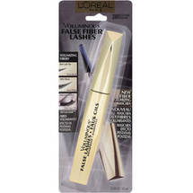 L'Oreal Paris Voluminous False Fiber Lashes Mascara Blackest Black Black Brown
