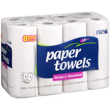 Strong & Absorbent Big Roll Paper Towels