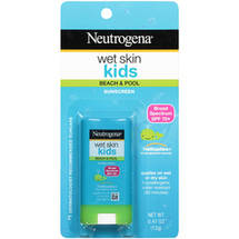 Neutrogena Wet Skin Kids Beach & Pool Sunscreen Stick Broad Spectrum SPF 70