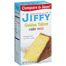 Jiffy Golden Yellow Cake Mix