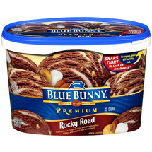 Blue Bunny Premium Rocky Road Ice Cream
