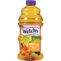 Welch's 100% White Grape Peach Juice